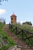 Chiesa romanica di St Giles in Inowlodz Immagine Stock
