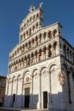 Chiesa romanica San Michele in foro Fotografie Stock Libere da Diritti