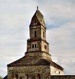 Chiesa rumena molto vecchia Fotografia Stock