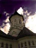 Chiesa rumena tradizionale Fotografia Stock