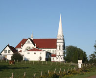 Chiesa rurale immagini stock libere da diritti