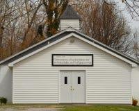 Chiesa rurale del paese Fotografie Stock Libere da Diritti