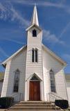 Chiesa rurale, Ohio, U.S.A. fotografia stock