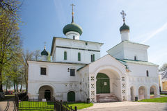 Chiesa russa del ortodox in Yaroslavl, Russia Anello dorato della Russia Fotografia Stock