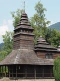 Chiesa russa di legno ortodossa Immagine Stock