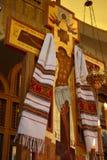 Chiesa russa di Othordox a Seattle, WA Fotografia Stock