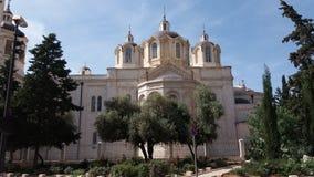 Chiesa russa Gerusalemme Fotografia Stock Libera da Diritti
