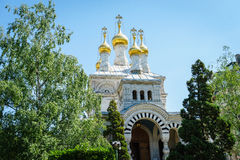 Chiesa russa, Ginevra, Svizzera Immagine Stock Libera da Diritti