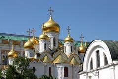 Chiesa russa a Mosca. fotografie stock libere da diritti