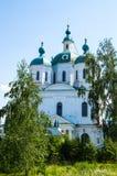 Chiesa russa in Yelabuga Fotografia Stock