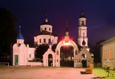 Chiesa in Russia immagini stock libere da diritti