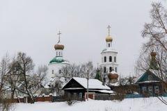 Chiesa in Russia Immagini Stock