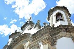Chiesa in São João del Rei Immagine Stock