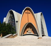 chiesa s caterina του Κάλιαρι Στοκ Φωτογραφία