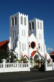 Chiesa in Samoa fotografia stock