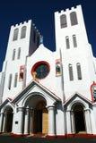 Chiesa in Samoa fotografie stock