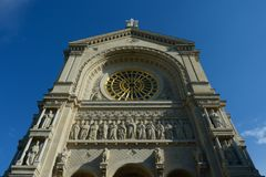 Chiesa San-Augustin - Parigi immagine stock
