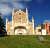 Chiesa San Jeronimo el Realo a Madrid, Spagna fotografia stock libera da diritti
