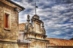 Chiesa a San Marino nel hdr Fotografie Stock Libere da Diritti