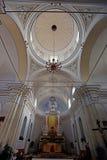 Chiesa San Vincenzo on Stromboli island Royalty Free Stock Photos