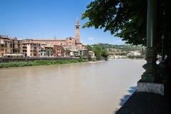 Chiesa Santa Anastasia, the largest church in Verona, Italy Royalty Free Stock Photo