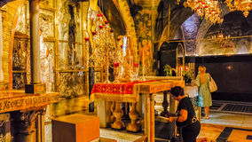 Chiesa santa Gerusalemme del sepolcro Immagini Stock