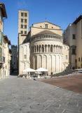 Chiesa Santa Maria Arezzo Toscana Italia Europa dell'abside Immagine Stock Libera da Diritti