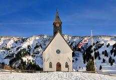 Chiesa in Seiseralm, Val Gardena Fotografie Stock Libere da Diritti