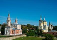 Chiesa in Serpuchov, area di Mosca, Russia Fotografia Stock Libera da Diritti