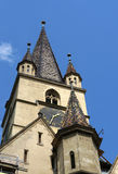 Chiesa Sibiu Romania di Evanghelical Immagine Stock Libera da Diritti