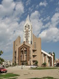 Chiesa Sibiu Romania di Evanghelical Fotografia Stock