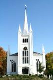 Chiesa signorile della Nuova Inghilterra Fotografia Stock