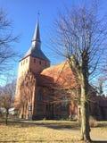 Chiesa in Slawsko Polonia immagine stock