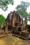 Chiesa sopportante di quattro Buddha Immagini Stock