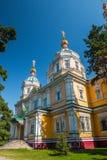 Chiesa sovietica russa di era di stile tradizionale Fotografia Stock Libera da Diritti