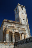 Chiesa spagnola abbandonata Fotografia Stock
