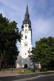 Chiesa in Spisska Nova Ves, Slovacchia Fotografia Stock Libera da Diritti