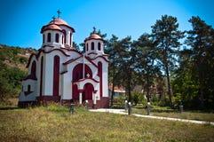 Chiesa St John Baptist Grdelica Fotografia Stock Libera da Diritti