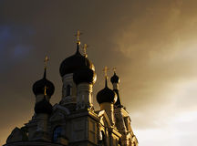 Chiesa a St Petersburg, Russia. Immagine Stock Libera da Diritti