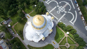 Chiesa a St Petersburg (Russia) Fotografie Stock