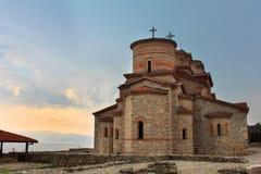 Chiesa storica del san Panteleimon, Ohrid, Maced Fotografie Stock