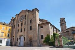 Chiesa storica dell'Emilia Romagna. L'Italia. Immagine Stock Libera da Diritti