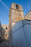 Chiesa storica della Puglia. L'Italia. Immagini Stock