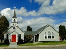chiesa storica di 1890s Immagini Stock