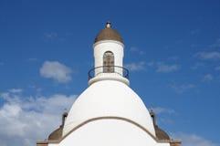Chiesa storica, grande canarino fotografia stock libera da diritti