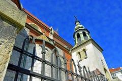 chiesa stupefacente a Cracovia Fotografia Stock Libera da Diritti