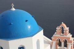 Chiesa su Santorini Immagine Stock