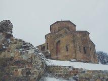 Chiesa su una collina Fotografie Stock