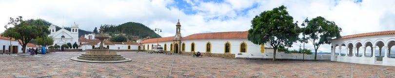 Chiesa a Sucre, Bolivia Fotografie Stock
