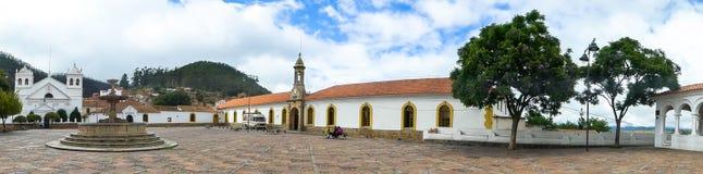 Chiesa a Sucre, Bolivia Fotografia Stock
